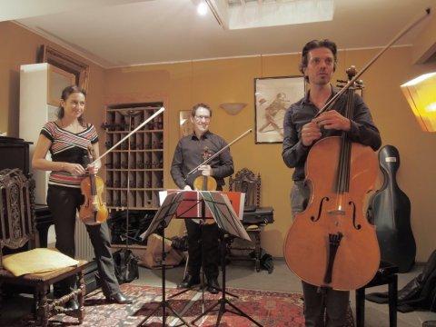 Le Trio Goldberg à l'atelier Du Bois à la Musique