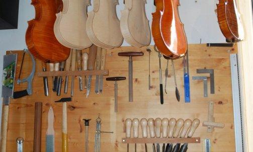 Fabrication de violon et d'alto