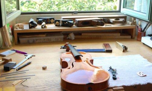 Réparation de violon