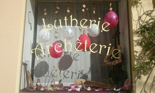 Lutherie archèterie Saint-Valentin